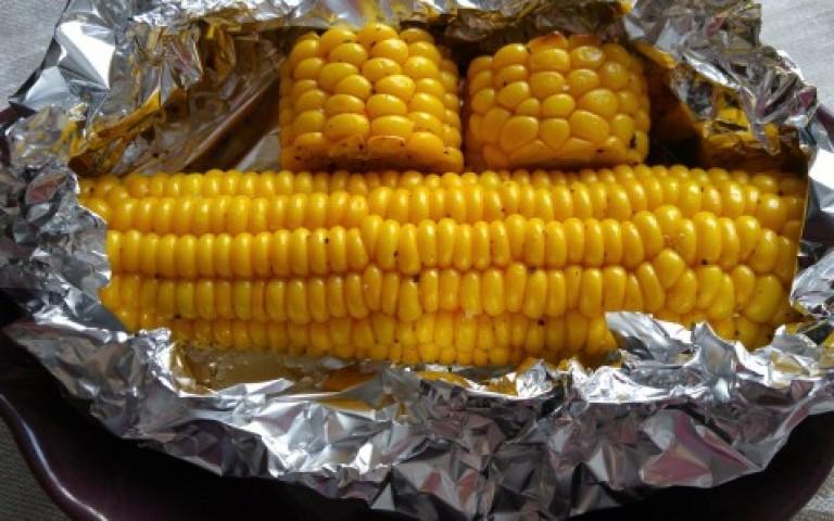 Сладкая кукуруза — сладкий завтрак…